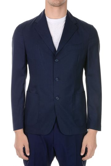 Wool Silk Blazer