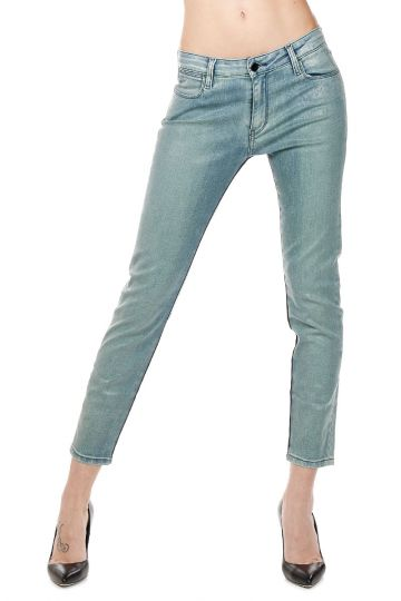 Jeans Capri Cropped Skinny in Denim 14 cm
