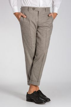 Wool & Silk Pants