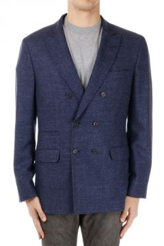 Wool and Silk Blend Jacket