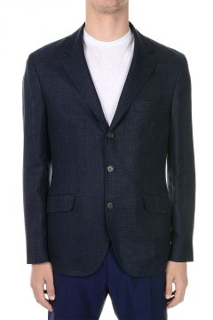 Wool Silk And Linen Blazer