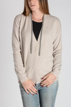 Virgin Wool and Cashmere Cardigan
