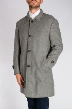 Cashmere Coat Reversible