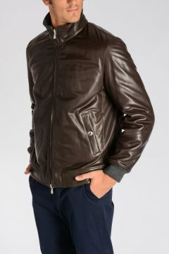 Leather Reversible Jacket