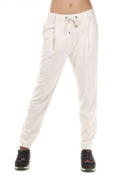 Pantaloni Jogging in Cotone Stretch