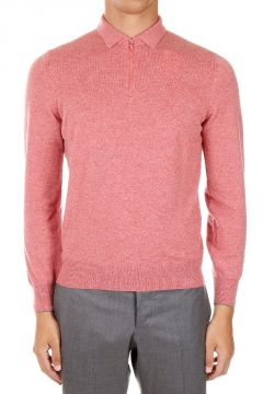 Zipped Cashmere Sweater