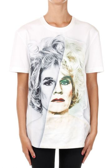 Andy worhol Face Printed T-shirt