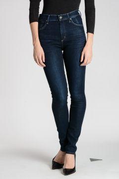 Jeans CARLIE In Cotone Misto 12 cm