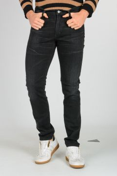 Jeans NOAH SUPER SKINNY BLACK ROCK in Denim Stretch 17 cm