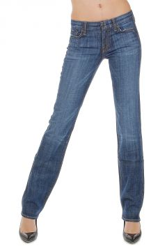 19 cm Stretch Denim STRAIGHT LEG Jeans