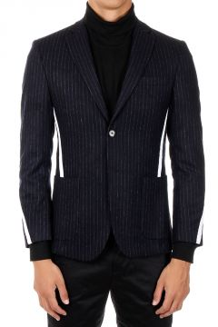 Wool Single Breasted Blazer