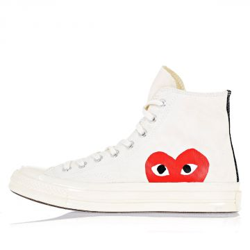 PLAY COMME Des GARCONS Sneakers alte in Tessuto