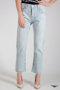 Jeans STRAIGHT in Denim Vintage Effect 19cm