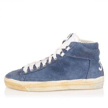 Sneakers Alta in Camoscio