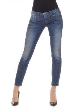 Jeans Capri Skinny Fit in Denim Stretch 14 cm