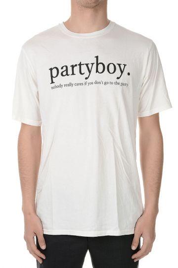 T-shirt PARTY BOY a Girocollo