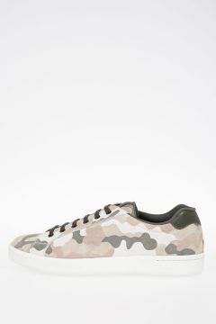 Camouflage Suede Leather Sneakers