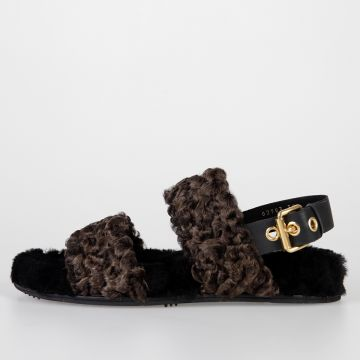 Real Fur BREIT Sandals