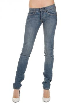 Jeans NARROW in Denim Stretch Delave 14 cm