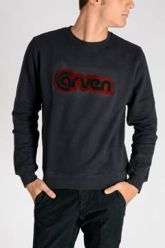 Round Neck MOLLETON Sweatshirt