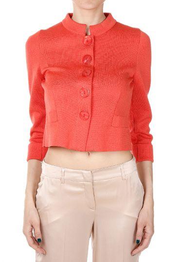Cotton Mixed short Jacket