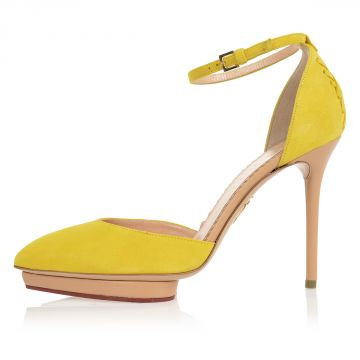 Suede SUNSHINE HEATHER Heeled Shoes