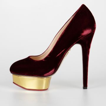 15 cm DOLLY Velvet Pumps