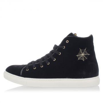 Velvet High Sneakers