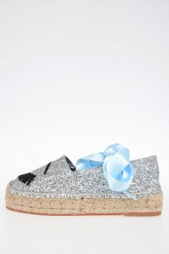 Glittered FLIRTING EYE Espadrillas