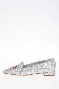 Glittered MONSTER EYES Flats
