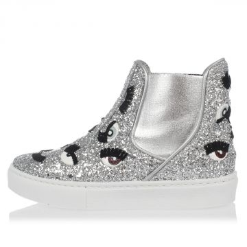Glitter Shoes with eyes