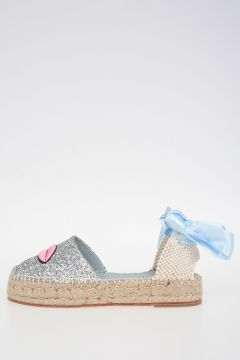 Glittered EYE & LIPS Espadrillas