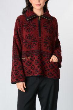 Cashmere Wool Sweatshirt
