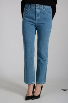 18cm Embroidered Denim Jeans