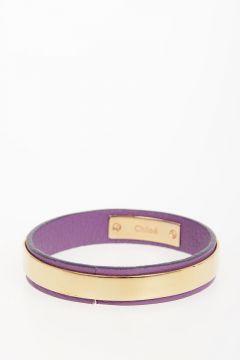 Leather and Brass Bracelet