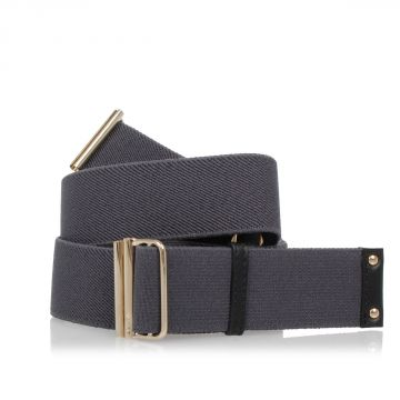 Elastic Band Belt with brass 3 cm