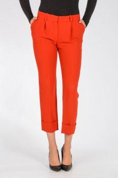 Pantalone Con Piega Frontale