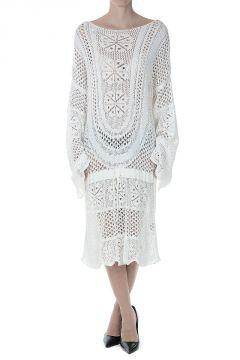 Cotton Blend Knitted Dress
