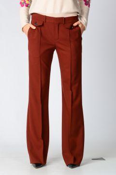 Virgin Wool Blend Pants