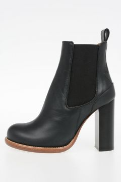 Leather Boots 10 cm