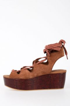 SEEBYCHLOE Leather Wedge