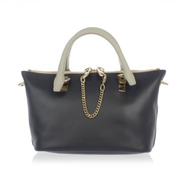 Leather PORTE EPAULE Bag