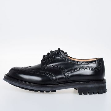 MCPHERSON Leather Derby Shoes