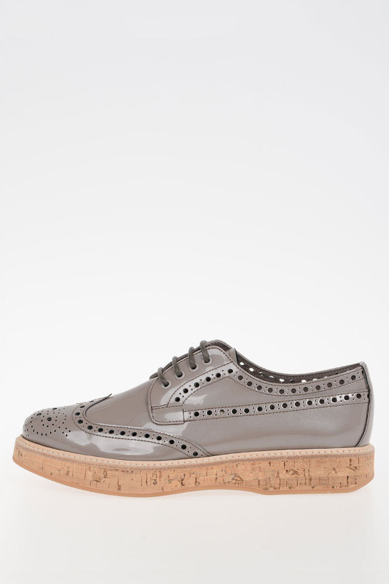 Church s Women Brogue Patent Leather Derby Shoes - Glamood Outlet 1827fba4b8d