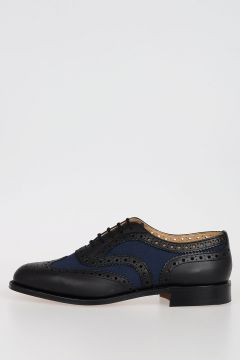 Mixed Leather BURWOOD H Oxford