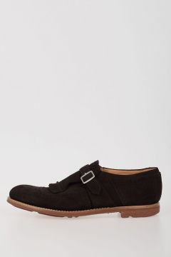 Brogue Suede Leather Loafers
