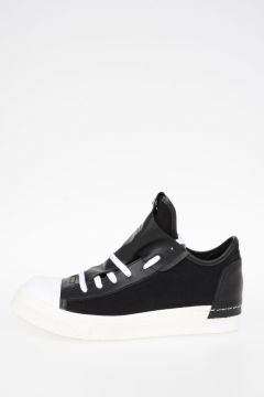 Fabric & Leather Sneakers