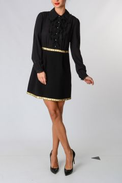 Studded Shirt Dress