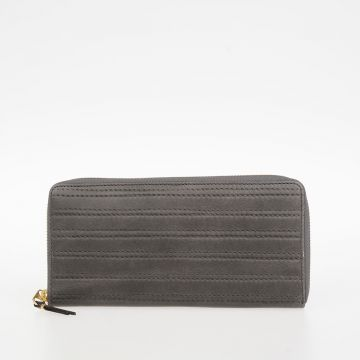 Leather EMBOSSED STITCH Wallet