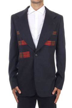 Wool and Cashmere Single Breasted Blazer